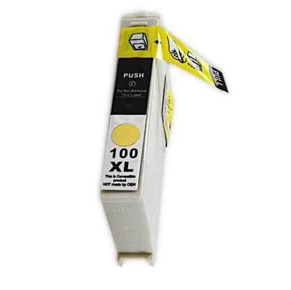 Lexmark 14N1071E - 100XL yellow žlutá inkoustová kompatibilní cartridge pro tiskárnu Lexmark Pinnacle Pro901