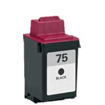 Lexmark 12A1975 - black černá inkoustová kompatibilní cartridge pro tiskárnu Lexmark Color JetPrinter 7200