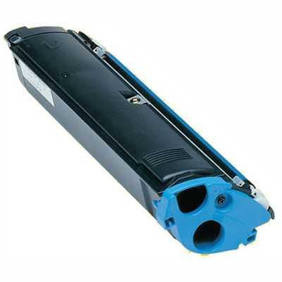 kompatibilní toner s Minolta 1710517008 cyan modrý azurový toner pro tiskárnu Konica Minolta Magicolor 2300