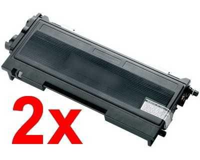 2x kompatibilní toner s Brother TN-2000 (2500 stran) black černý toner pro tiskárnu Brother DCP-7020