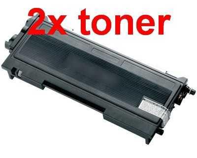 2x kompatibilní toner s Brother TN-2005 black (černá) toner pro tiskárnu Brother HL-2035