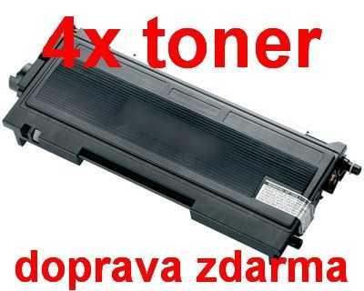 4x kompatibilní toner s Brother TN-2005 black (černá) toner pro tiskárnu Brother HL-2035
