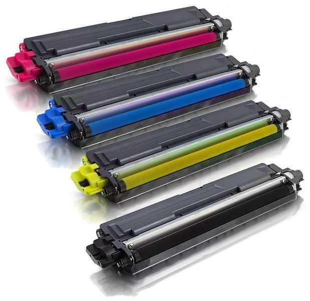 sada kompatibilních tonerů s Brother TN-242BK, TN-246C, TN-246M, TN-246Y tonery pro tiskárnu Brother DCP-9022CDW