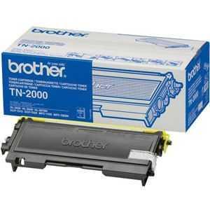 originál Brother TN-2000 black černý originální toner pro tiskárnu Brother MFC-7820N