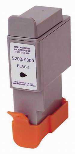 kompatibilní s Canon BCI-24BK black černá inkoustová náplň pro tiskárnu Canon PIXMA MP130