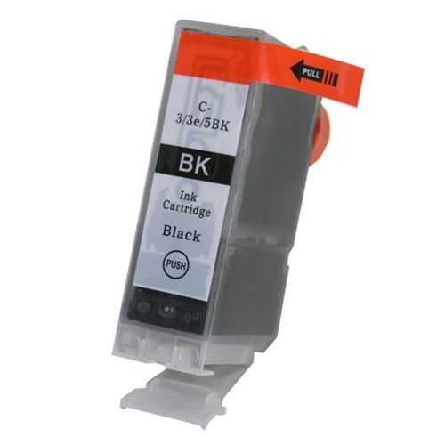 kompatibilní s Canon BCI-3ebk 30 ml black cartridge černá inkoustová náplň pro tiskárnu Canon S6300