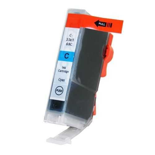 kompatibilní s Canon BCI-3C cyan cartridge modrá azurová inkoustová náplň pro tiskárnu Canon S6300