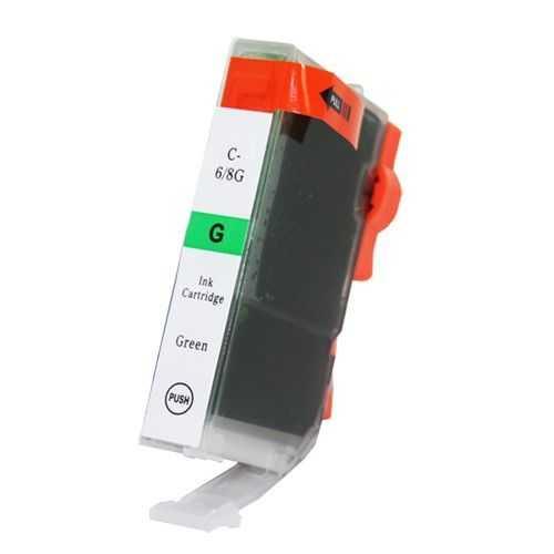kompatibilní s Canon BCI-6G green zelená cartridge inkoustová náplň pro tiskárnu Canon i9950