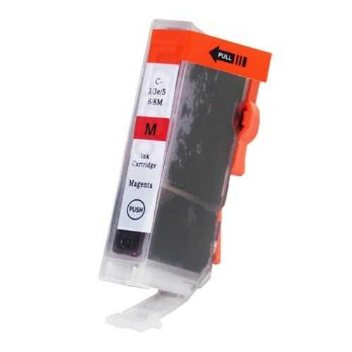 kompatibilní s Canon BCI-3M magenta cartridge purpurová červená inkoustová náplň pro tiskárnu Canon S6300