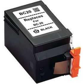 Canon BC-20 black černá kompatibilní inkoustová cartridge pro tiskárnu Canon B210C