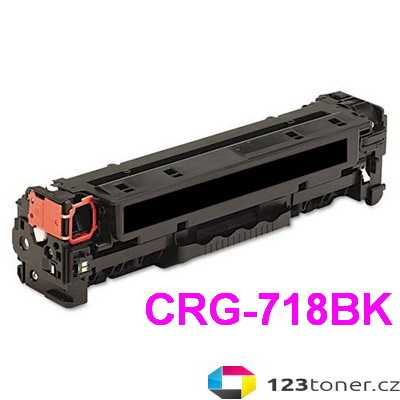 kompatibilní toner s Canon CRG-718bk black černý toner pro tiskárnu Canon i-SENSYS LBP7200Cdn