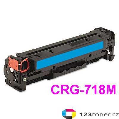 kompatibilní toner s Canon CRG-718c cyan modrý azurový toner pro tiskárnu Canon MF8550Cdn