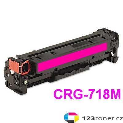 kompatibilní toner s Canon CRG-718m magenta purpurový červený toner pro tiskárnu Canon MF8550Cdn