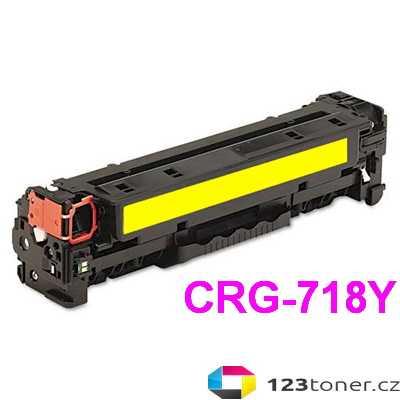 kompatibilní toner s Canon CRG-718y yellow žlutý toner pro tiskárnu Canon MF8550Cdn