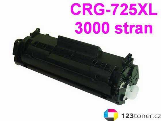 kompatibilní toner s Canon CRG-725 XL (3000 stran) black černý toner pro tiskárnu Canon i-SENSYS MF3010