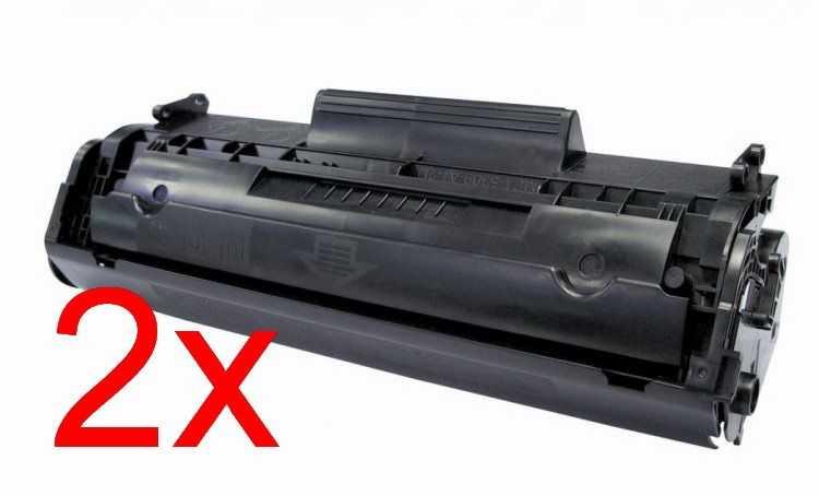 2x kompatibilní toner s Canon FX9 black černý toner pro laserovou tiskárnu Canon MF4370dn
