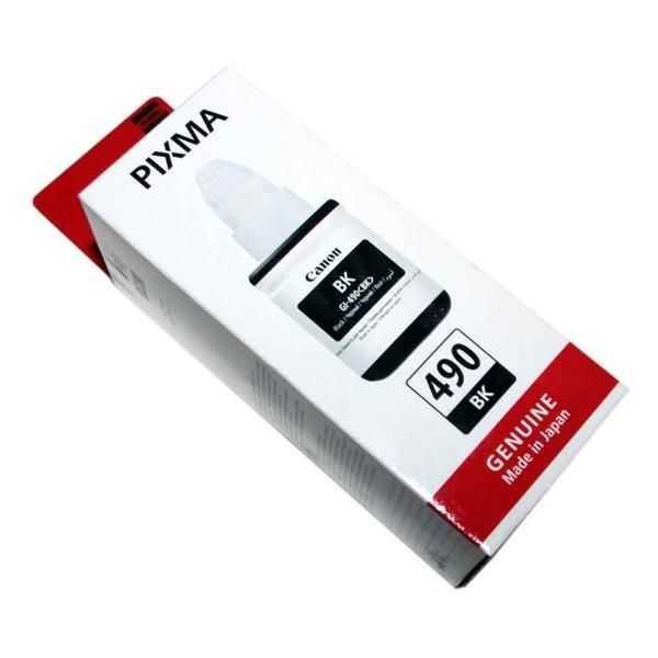 originální inkoust Canon GI-490BK černý inkoust 135 ml pro tiskárnu