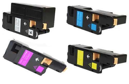 sada tonerů kompatibilních s Epson C17xx (C13S050611, C13S050612, C13S050613, C13S050614) - 4x tonery pro tiskárnu Epson AcuLaser C1700