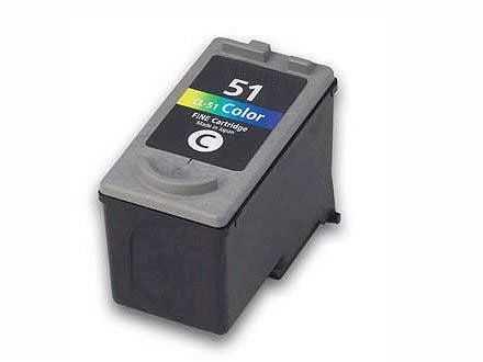 Canon CL-51 color barevná kompatibilní inkoustová náplň pro tiskárnu Canon PIXMA MP160