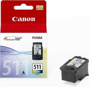 originální Canon CL-511 barevná originální cartridge inkoustová náplň pro tiskárnu Canon PIXMA MP250
