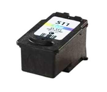 Canon CL-511 color barevná kompatibilní cartridge inkoustová náplň pro tiskárnu Canon PIXMA MP260