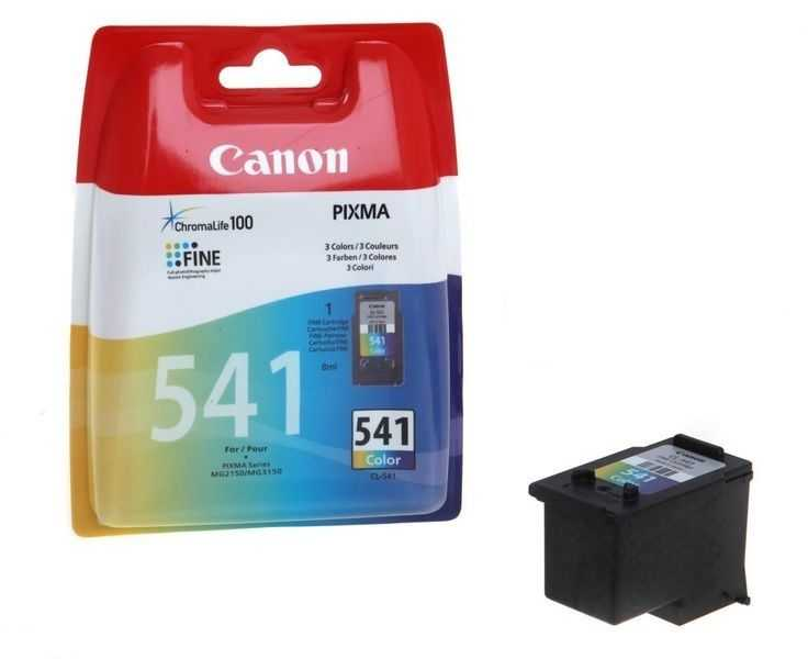 originální Canon CL-541 barevná cartridge originální inkoustová náplň pro tiskárnu Canon Pixma MX475