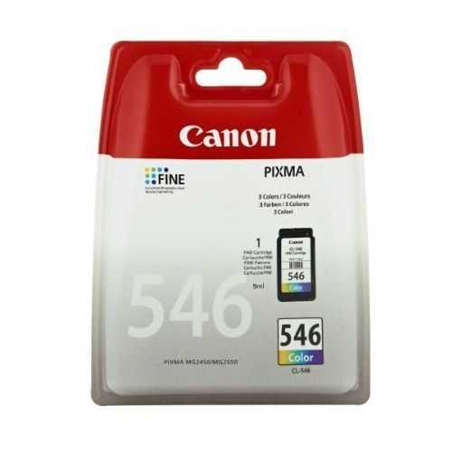 originální Canon CL-546 barevná cartridge inkoustová náplň pro tiskárnu Canon Pixma MG2555