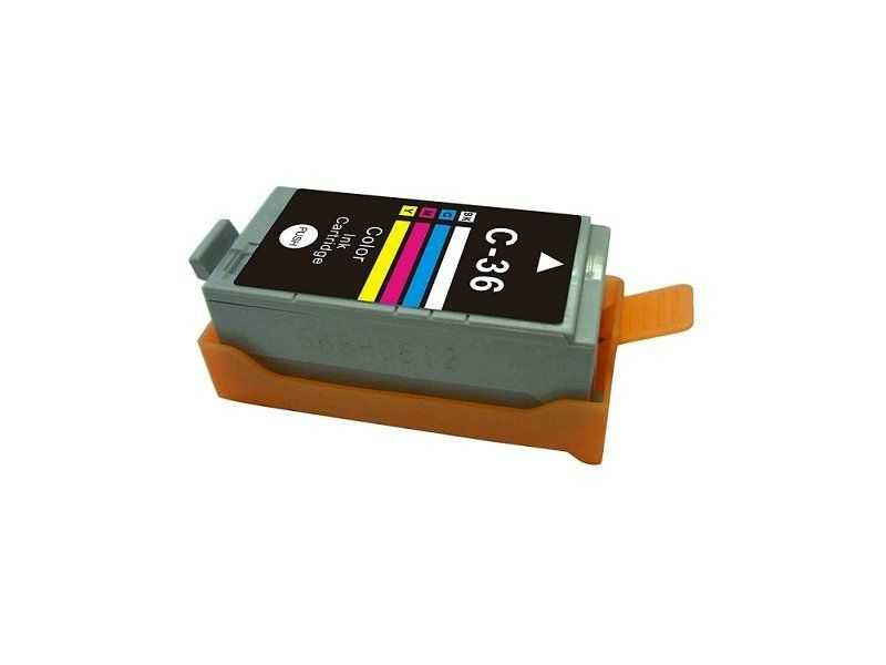 kompatibilní s Canon CLi-36 color cartridge barevná inkoustová náplň pro tiskárnu Canon PIXMA Mini320
