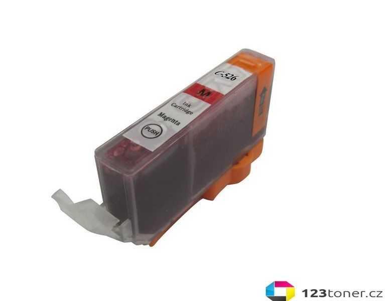 kompatibilní s Canon CLI-526m magenta cartridge purpurová inkoustová náplň pro tiskárnu Canon PIXMA iP4950