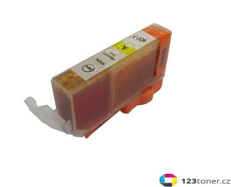 kompatibilní s -Canon CLI-526y yellow cartridge žlutá inkoustová náplň pro tiskárnu Canon PIXMA iP4950