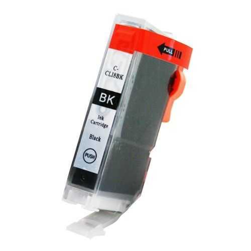 kompatibilní s Canon CLI-8bk black cartridge černá foto s čipem inkoustová náplň pro tiskárnu Canon PIXMA MP610