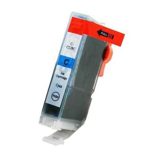 kompatibilní s Canon CLI-8C cyan cartridge modrá s čipem inkoustová náplň pro tiskárnu Canon PIXMA MP510