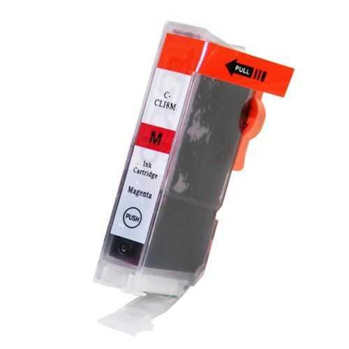 kompatibilní s Canon CLI-8M magenta cartridge purpurová červená s čipem inkoustová náplň pro tiskárnu Canon PIXMA MP610