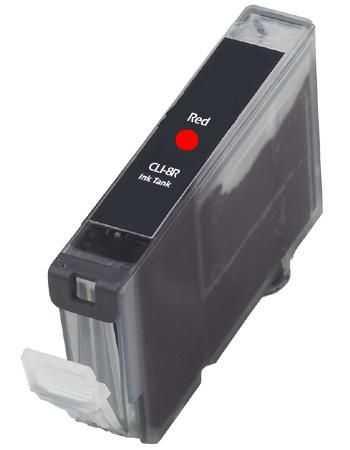kompatibilní s Canon CLI-8R red cartridge červená s čipem inkoustová náplň pro tiskárnu Canon PIXMA Pro9000 Mark II