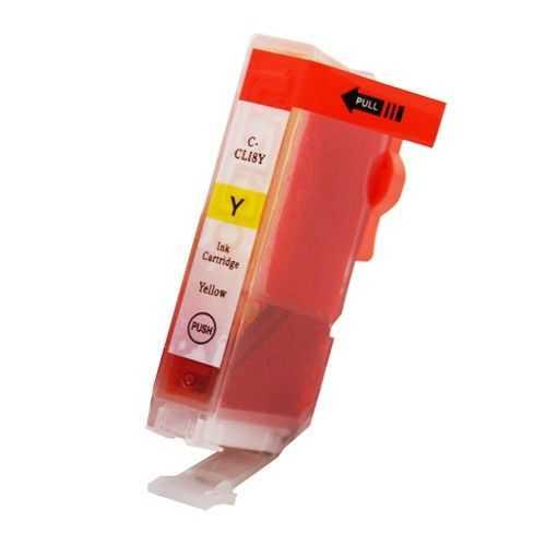 kompatibilní s Canon CLI-8Y yellow cartridge žlutá s čipem inkoustová náplň pro tiskárnu Canon PIXMA MP510