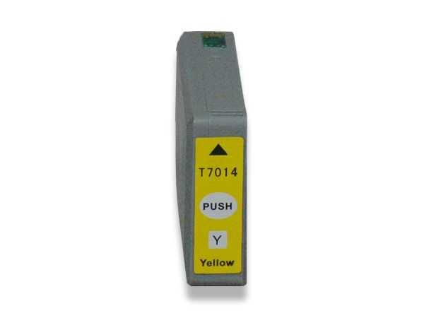 Epson T701440 yellow žlutá inkoustová kompatibilní cartridge pro tiskárnu Epson WorkForce Pro WP-4015 DN
