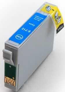 Epson T0892 cyan cartridge, modrá azurová kompatibilní inkoustová náplň pro tiskárnu Epson Stylus SX105