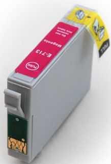 Epson T0893 magenta cartridge, purpurová červená kompatibilní inkoustová náplň pro tiskárnu Epson Stylus SX105