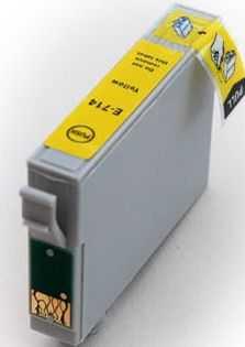 Epson T0894 yellow cartridge, žlutá kompatibilní inkoustová náplň pro tiskárnu Epson Stylus SX105