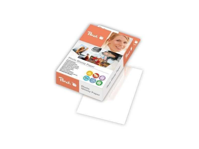 Fotografický papír Peach lesklý, 10x15cm 240g 100 listů