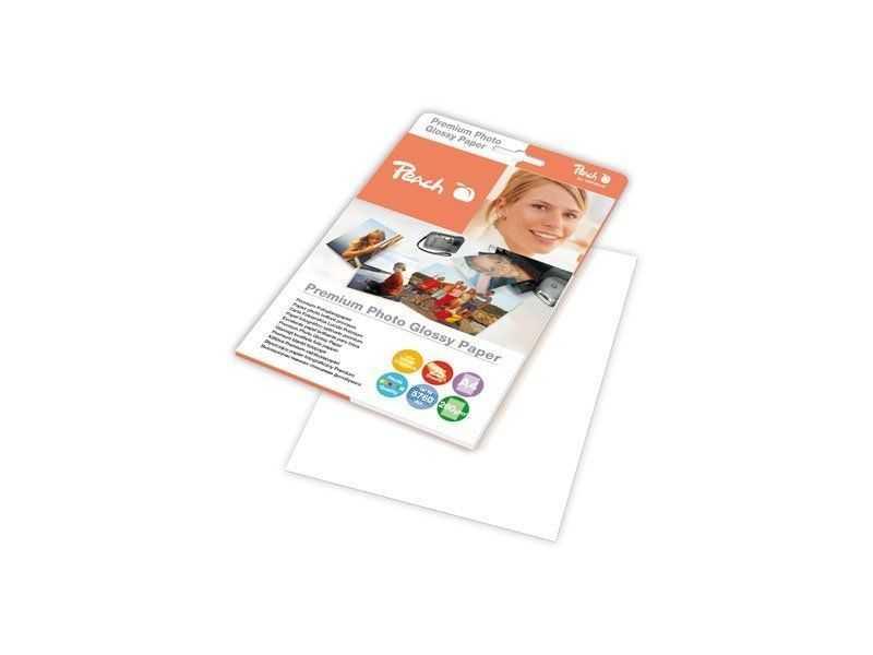 Fotografický papír Peach lesklý, A4 260g 25 listů