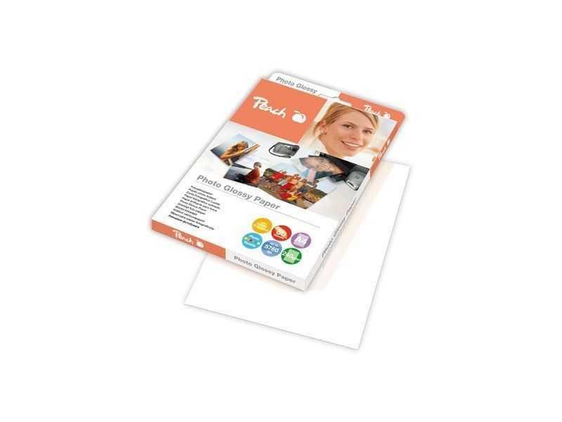 Fotografický papír Peach lesklý, A4 240g 50 listů
