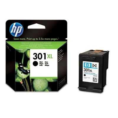 originální HP 301XL (CH563EE) black černá inkoustová cartridge pro tiskárnu HP DeskJet 2054a