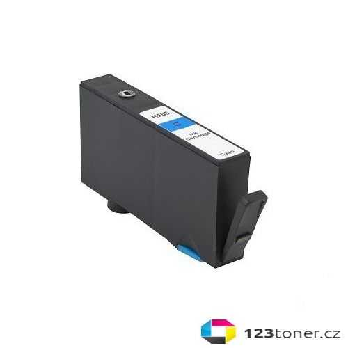 HP 655 C (CZ110AE) cyan modrá azurová kompatibilní inkoustová cartridge pro tiskárnu HP DeskJet Ink Advantage 3525