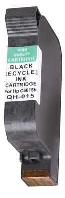 HP15 (C6615A - C6615D) black cartridge černá kompatibilní inkoustová náplň pro tiskárnu HP DeskJet 3810