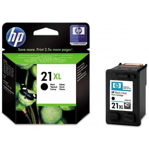 originál HP 21 XL (C9351CE) black cartridge černá originální inkoustová náplň pro tiskárnu HP PSC 1400
