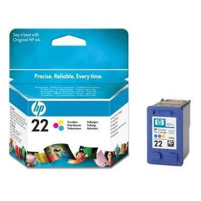 originál HP 22 (C9352A) color cartridge originální barevná inkoustová náplň pro tiskárnu HP DeskJet D1560