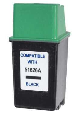 HP26 (51626A) black černá cartridge kompatibilní inkoustová náplň pro tiskárnu HP Fax 300
