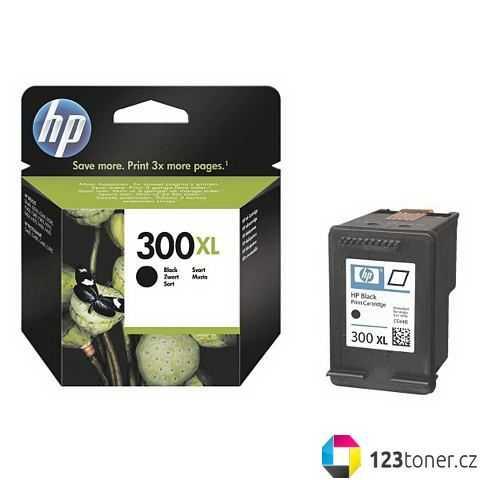originál HP 300XL black (CC641EE) černá inkoustová originální cartridge pro tiskárnu HP DeskJet F4283