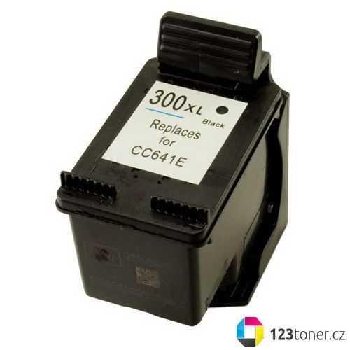 HP 300XL black (CC641EE) černá kompatibilní inkoustová cartridge pro tiskárnu HP Photosmart C4680